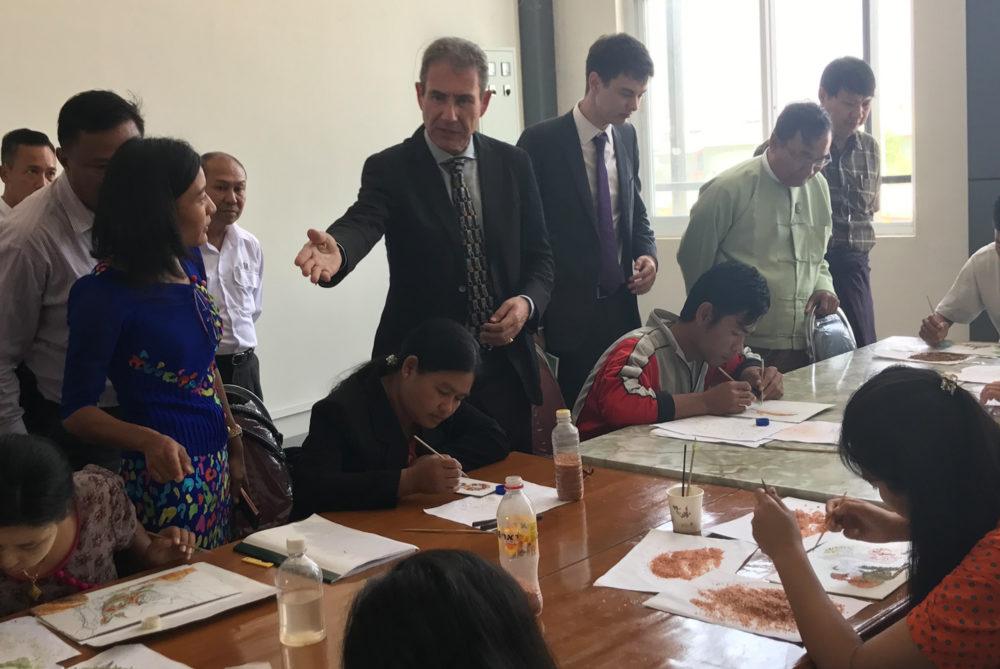 Myanmar - Finding Gem Cutters